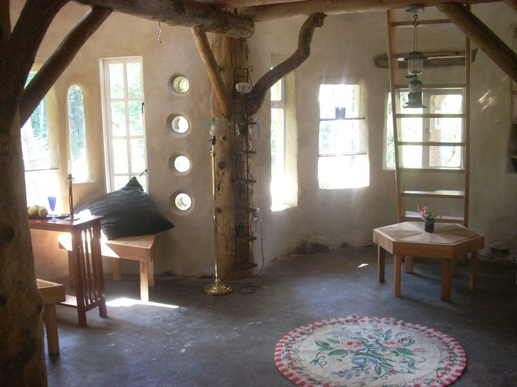 Mud Mavens Girls Founder Jen Gobby Dwell Interior Of Cob House By Design Atlanta