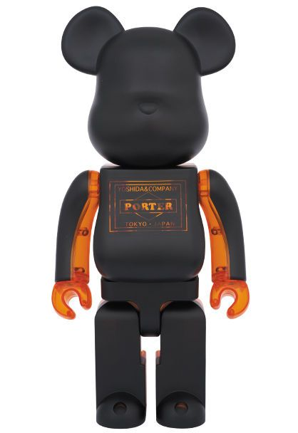 Bearbrick 400% Porter Black×Skeleton Christmas Limited Edition Be@rbrick Medicom #Medicom