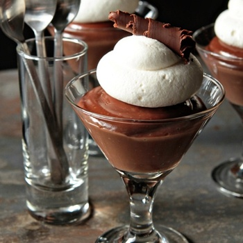 Homemade chocolate pudding with Bailey's | Food and Drinks | Pinterest