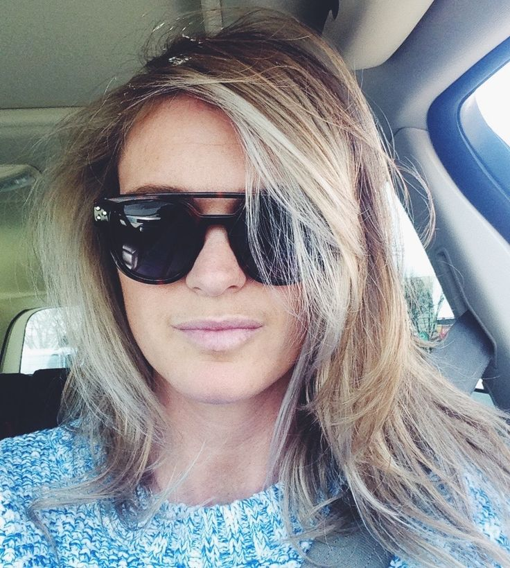 Shamelessjust-got-my-hair-did car selfie. Thank you to the wondersKat and Des from yeg's The Beauty Parlour, xo.