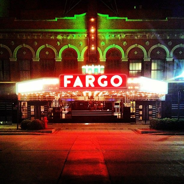 Great Photo Of Fargo Theatre At Night Photo By Instagram
