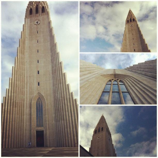 Hallgrimskirkja in Reykjavik, Iceland.      I went there!