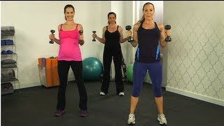 Heidi Klum Prenatal Workout, Andrea Orbeck Fitness, Class FitSugar, via YouTube.
