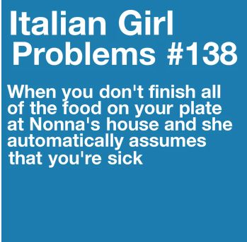 Nonni (that's me)  thinks you should go back for more food. There is no way you can be full on one plate.