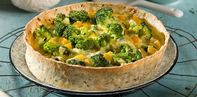 La Salteña | Recetas | Tarta de brócoli