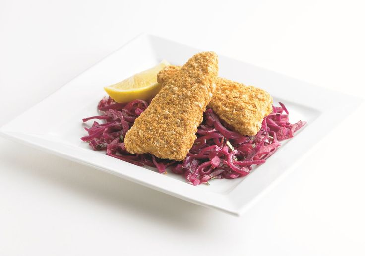 Now that cabbage is in season, there's no better time to enjoy this versatile and easy to cook vegetable. Try our recipe for Healthy Bake® with sauteed red #cabbage, for a simple and #healthy fall #meal!