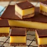 Recipe for Dark Chocolate Caramel Slice