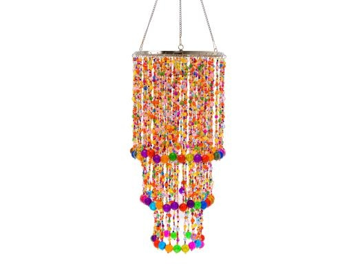 Gypsy Chandelier Multi Coloured Beads - Chandeliers & Decorative - £39.99 - The Contemporary Home Online ShopGypsy Chandeliers, Multi Colours, Colours Beads, Multicolored Beads, Lamps Shades, House Ideas, Pendants Lights, Home Kitchens, Multi Colors Beads