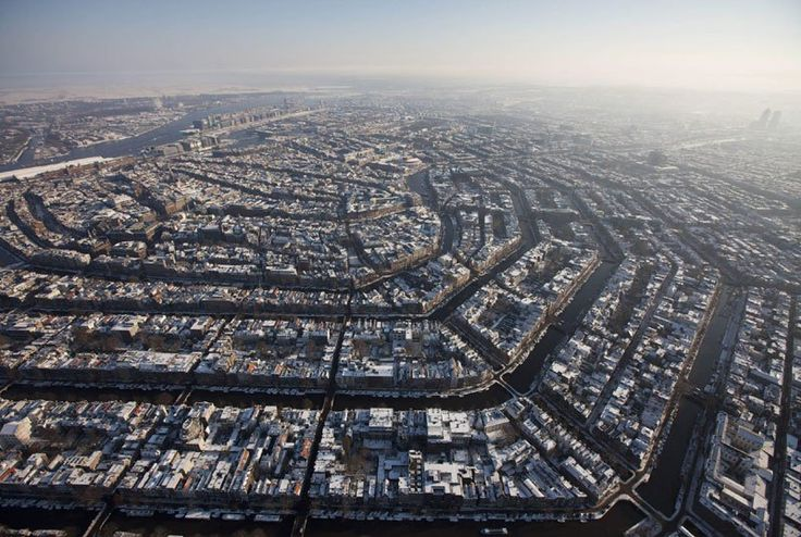 AMSTERDAM FROM ABOVE  Photographer Unknown via Triplen01 on Reddit  Amsterdam is the capital and most populous city of the Netherlands with a population of 805,166 within the city-proper, 1,563,141 in the urban region and 2,349,870 in the greater metropolitan area. It is located in the province of North Holland in the west…