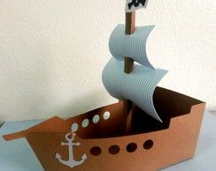 molde barco pirata - Pesquisa Google