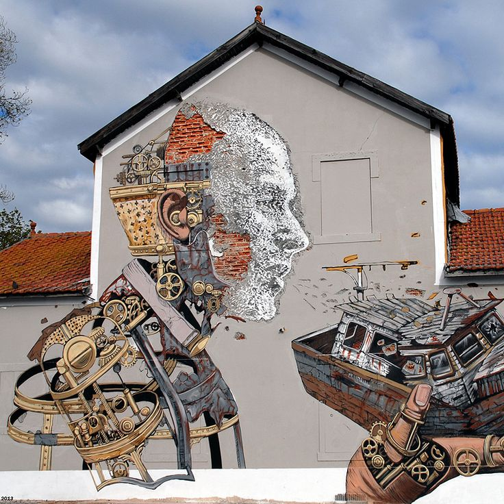 Pixel Pancho and Vhils Collaborate on the Streets of Lisbon   http://www.thisiscolossal.com/2013/11/pixel-pancho-and-vhils-collaborate-on-the-streets-of-lisbon/