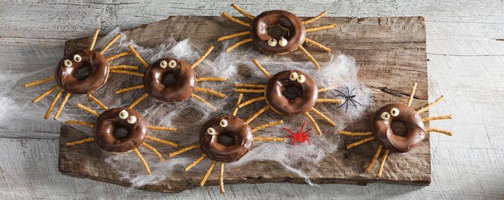 Choc Spider Donuts