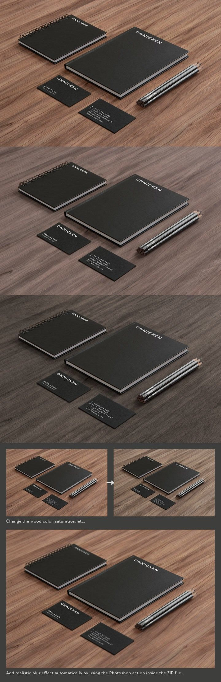 28 best great mockups for business cards images on pinterest free stationary mockup black paper on wood download all for free getfreeresources magicingreecefo Choice Image