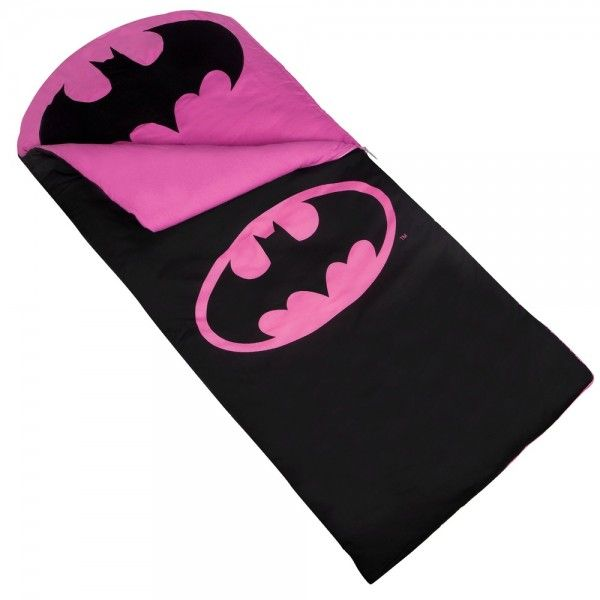 Batman Pink Emblem Sleeping Bag