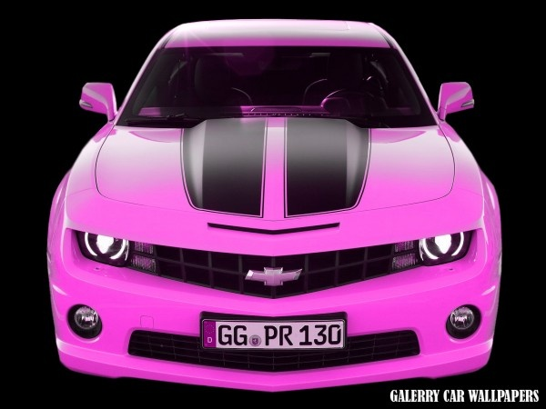 pink camero hello  ! ! ! Like my white with black rag top better