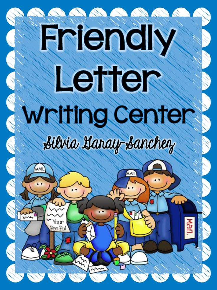 Best Friendly Letter Images On   Friendly Letter
