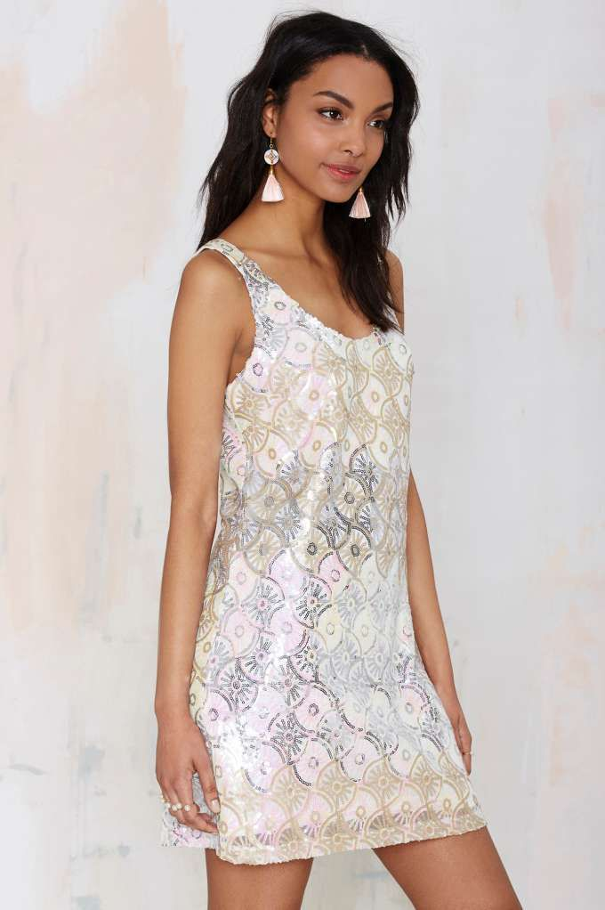 Glamorous Time to Shine Sequin Dress - Going Out
