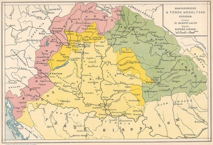 MAPY UHORSKA A SLOVENSKA: Uhorsko v období Osmanského panstva