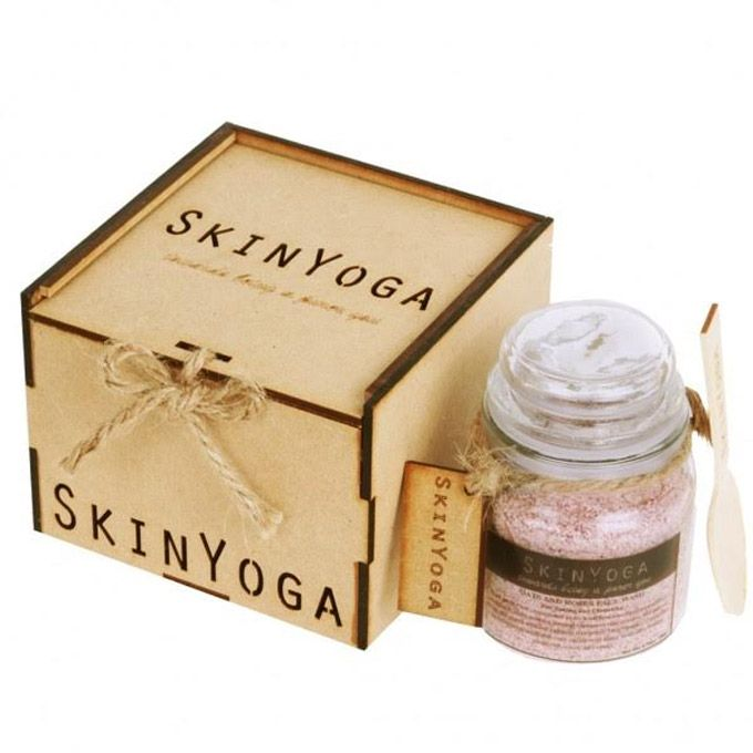 SKINYOGA   An Indian brand which is touted to be 100% natural and which has a range of cleansers with exotic ingredients