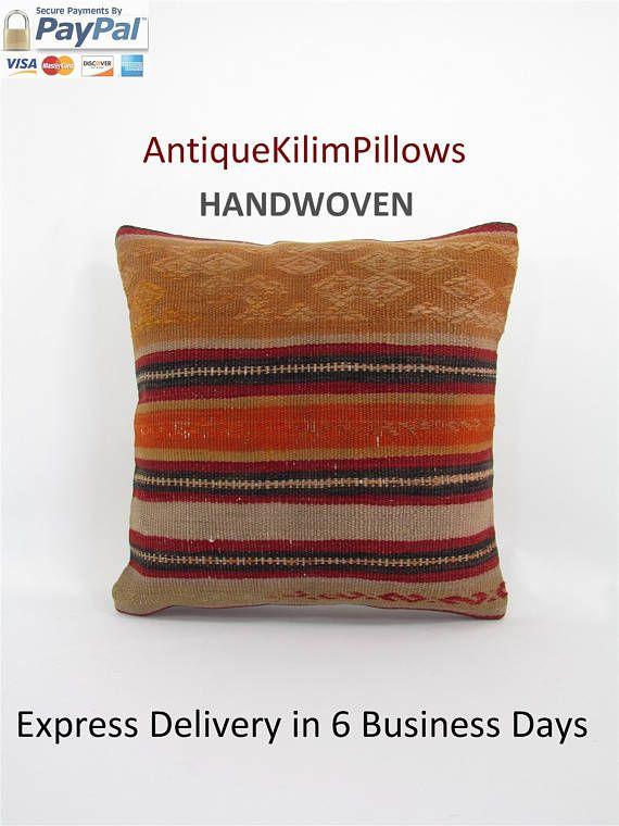 kilim rug pillow kilim pillow case kilim pillow cover boho couch pillow cover couch pillow case decorative throw pillow bedroom decor 000472 #RugPillow #KilimRugPillow #BedroomDecor #DecorativePillow #HomeDecor #KilimPillowCase #KilimPillowCover #KilimRugThrow #CouchPillowCover #CouchPillowCase