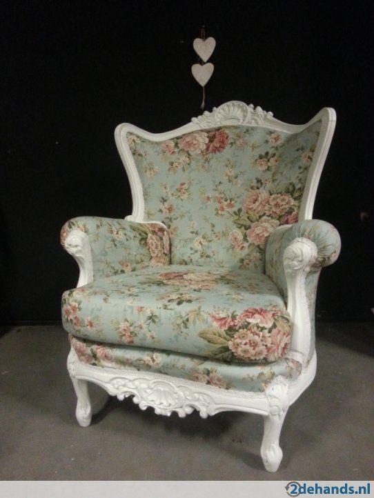 164628230 2 fauteuil zetel stoel barok landelijk stofferen. Black Bedroom Furniture Sets. Home Design Ideas
