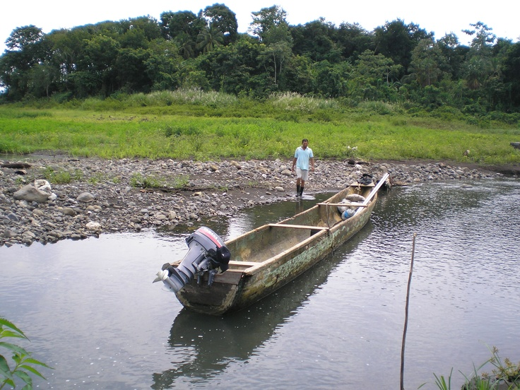 Powered dugout boat