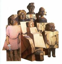 Marisol Escobar Artwork | ... had saved of stephanie s family by marisol escobar marisol was the