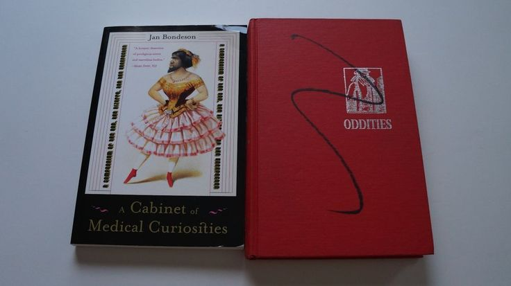 Oddities By Gould 1965 & A cabinet of medical curiosities By Bondeson #Oddities By #Gould #1965 & A #cabinet of #medical #curiosities By #Bondeson #curiousities #odd #bizzare