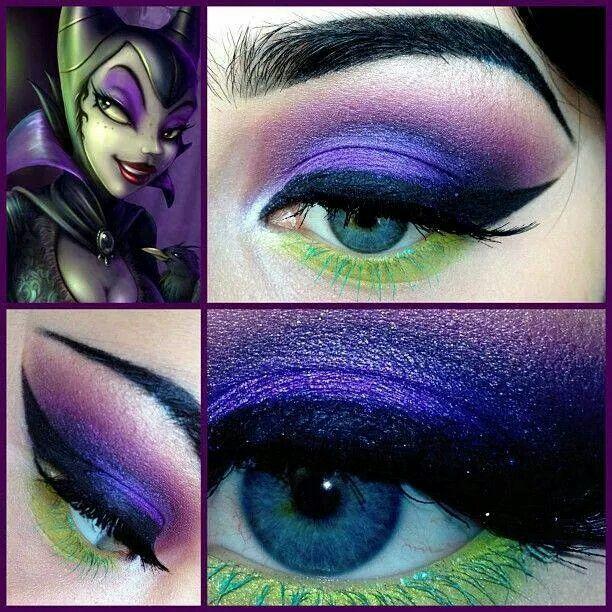 Great Halloween makeup.