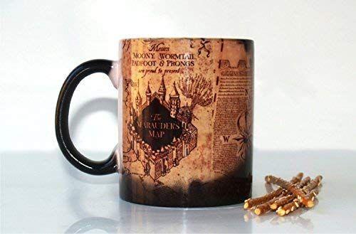 Hogwarts Magical Heat Miracle tmHarry Potter Mugs Map Marauder's wkZ0PNOX8n