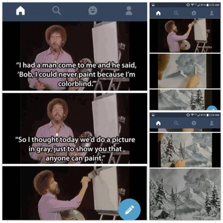 The world needs more people like Bob Ross.