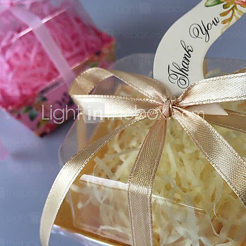Boîtes Cadeaux(Jaune / Lilas / Rose / Rouge,Papier durci / Plastique)Thème classique- pourMariage / Fête prénuptiale de 5027403 2016 à €5.87