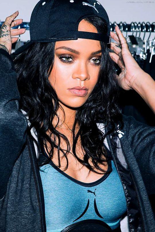"Rihanna behind the scenes for ""PUMA"" (2015)"