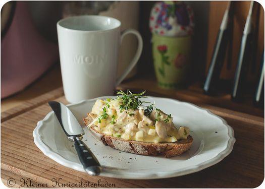 Kleiner Kuriositätenladen: Hühnchen-Eier-Salat