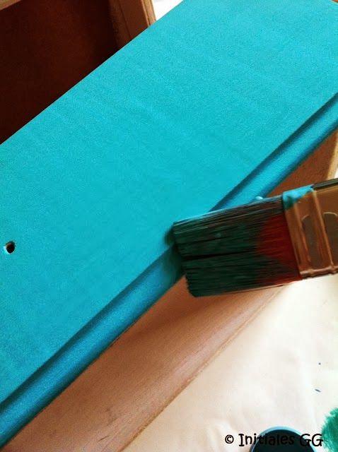 Initiales GG ... : Test : la peinture monocouche Colours de castorama