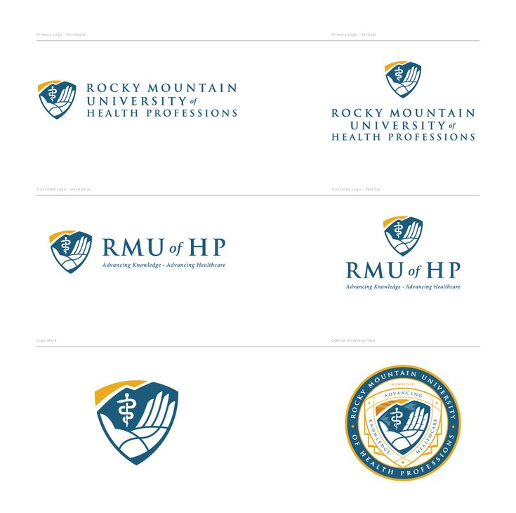 Rocky mountain university of health professions brand on