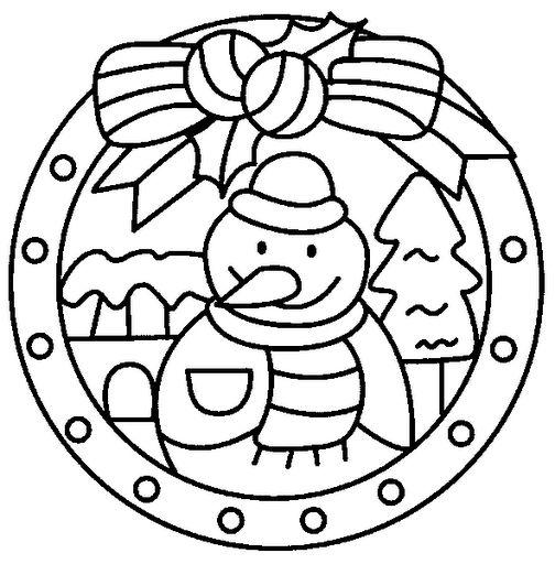 ausmalbilder weihnachten mandala kostenlos mandala