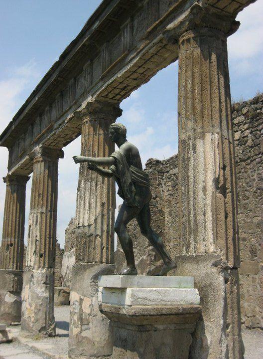 Ancient ruins of Pompeii.