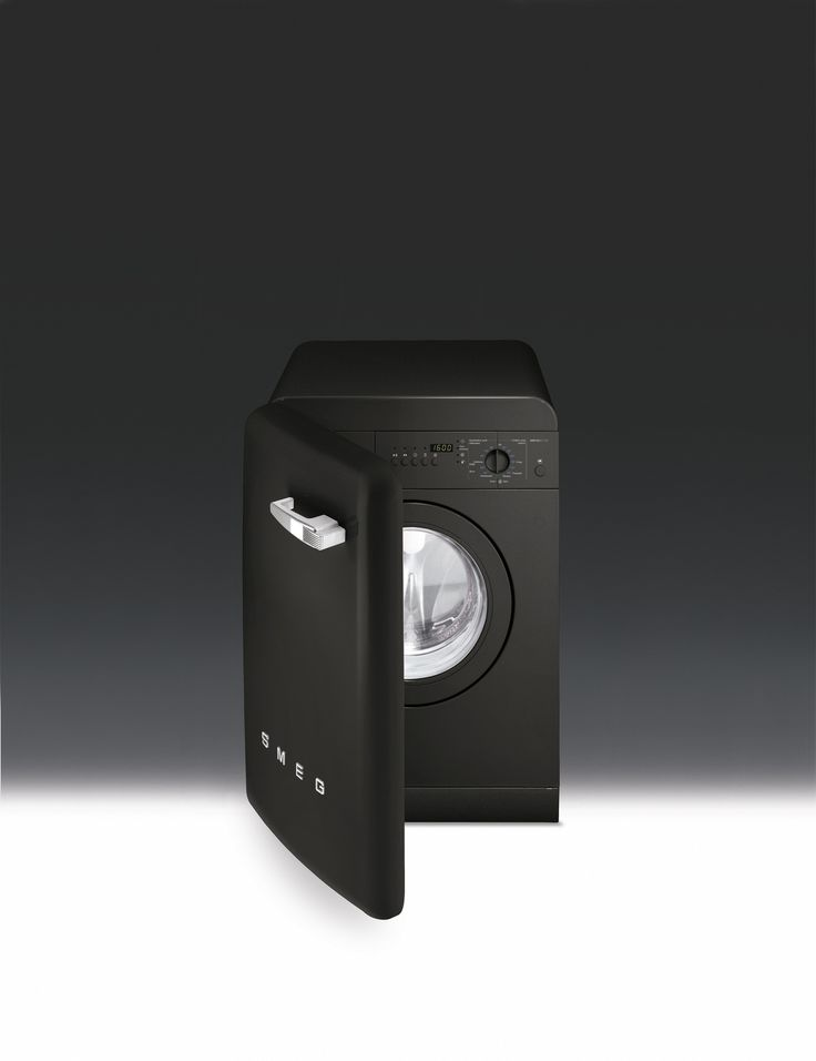 50's style free-standing washing machine, Black Energy rating A*B