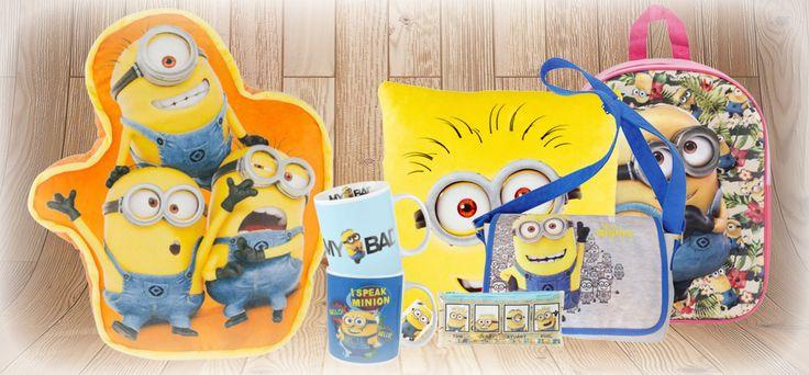 Jede Menge #Minions Produkte rund um Deine Lieblingsstars! Die perfekten #Geschenke für alle Fans der chaotischen Figuren!
