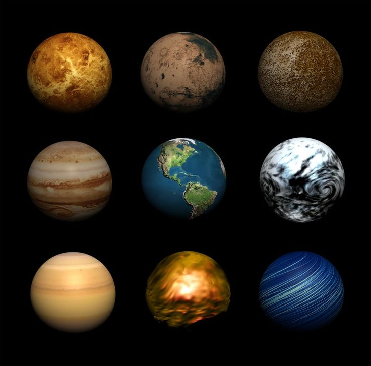our solar system planets in order with no pluto - photo #19