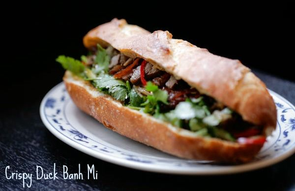 Crispy Duck Banh Mi from Keu! in London Restaurants - 10 Dishes you Have to Try