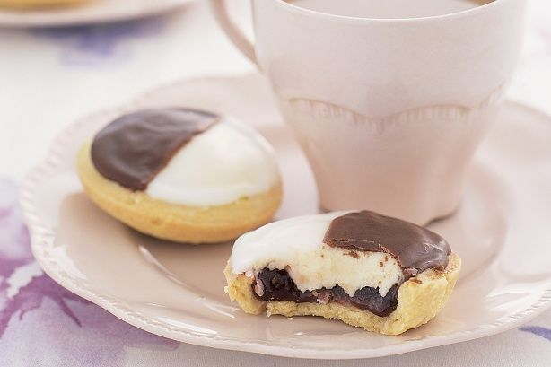 Neenish tarts. Love these from the bakery