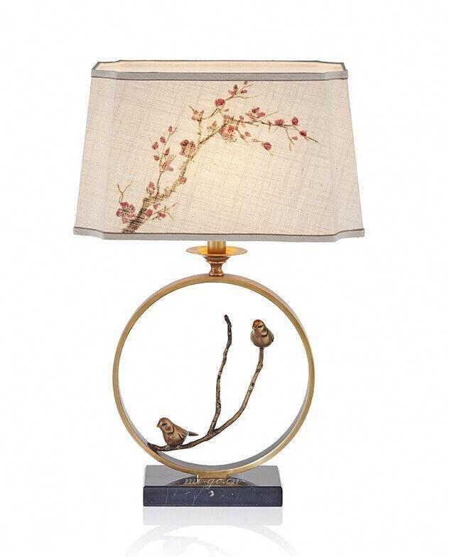 Mi Go米高 鸟语花香中式台灯bird Chinese Desk Lamp