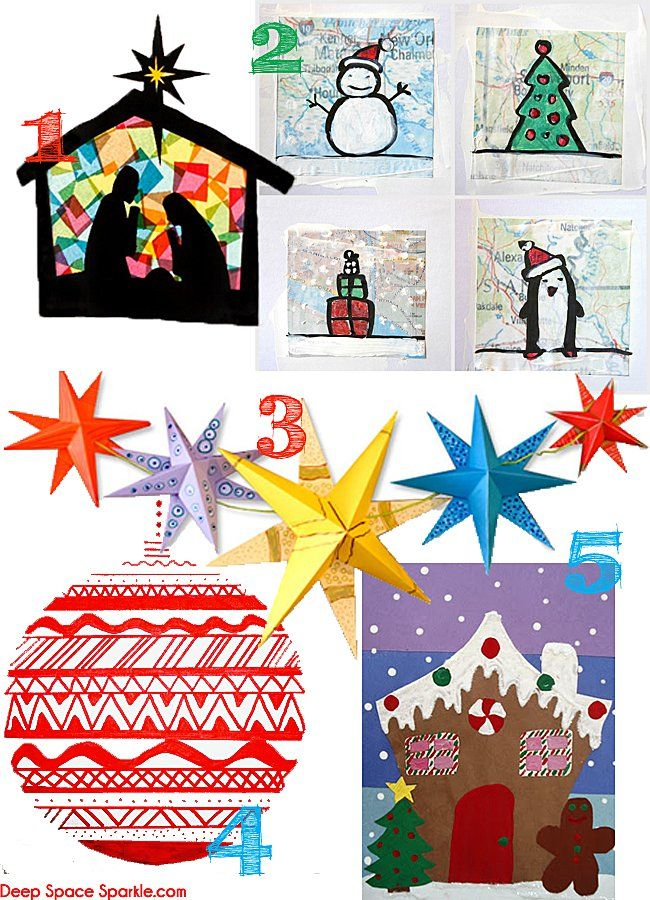 156 best holiday art projects images on pinterest school visual arts and diy christmas