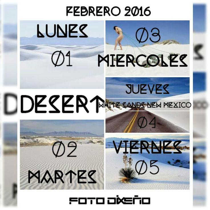 BIENVENIDO FEBRERO 2016 #FOTODiXEÑO
