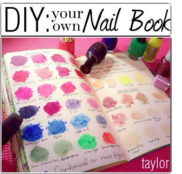 """""""DIY: Nail Book"""