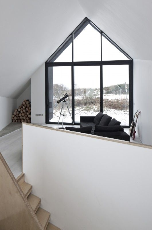 Interior from House at Camusdarach Sands, Orkney, UK by Raw Architecture Workshop