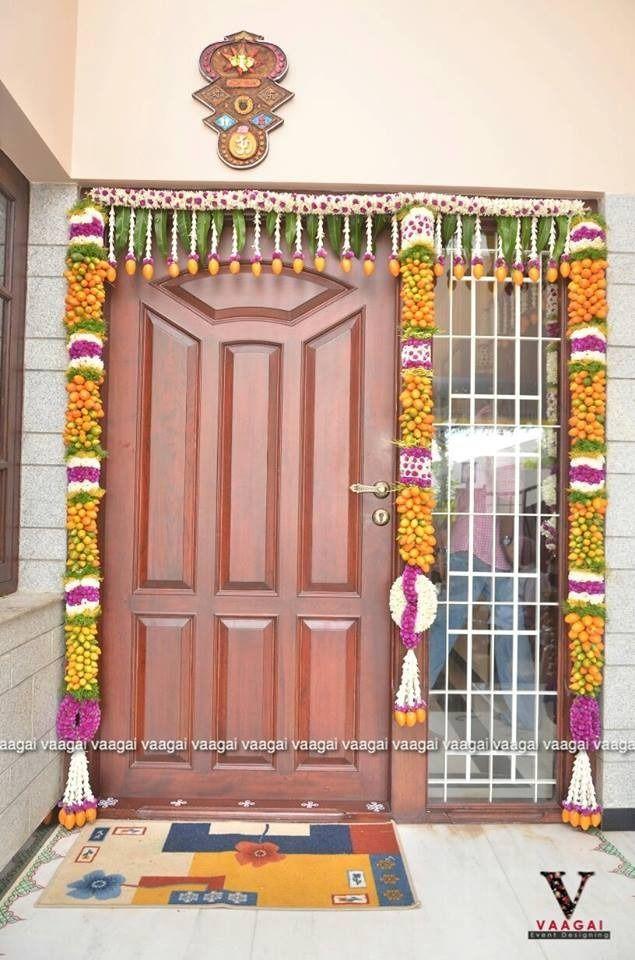 Festive Wedding Door Decorations Entry Door Designs Doorway Decor