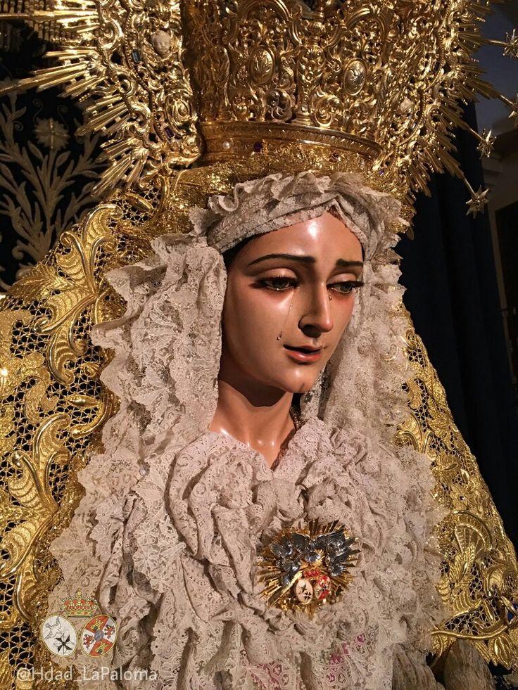 Virgen de la Paloma Málaga